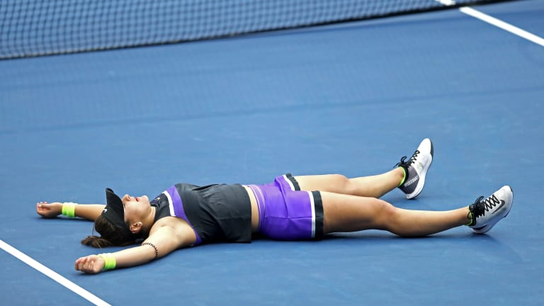 The top fast facts from Andreescu's US Open win