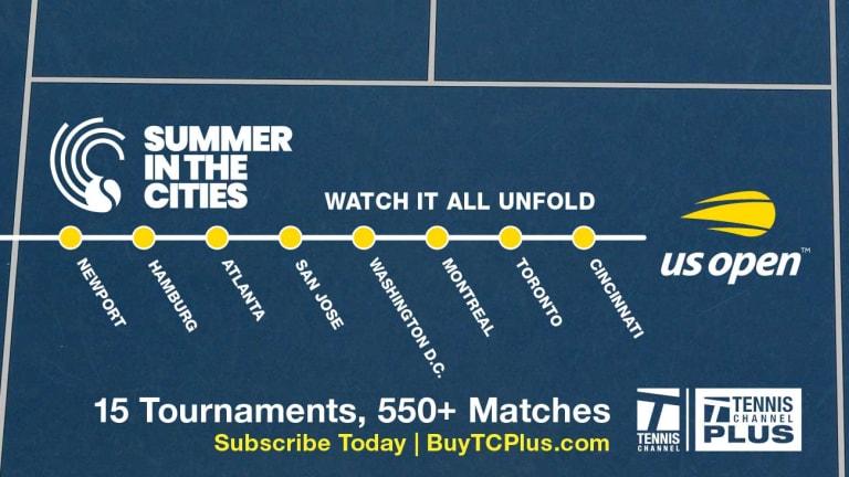 TC Plus Match of the Day: Coco Gauff vs. Zarina Diyas, Washington D.C.