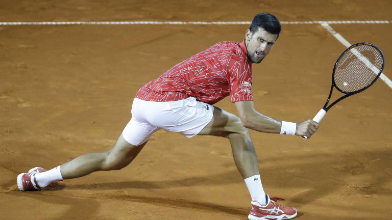 Krajinovic edges Djokovic on Day 1 of Adria Tour; Thiem, Zverev go 2-0