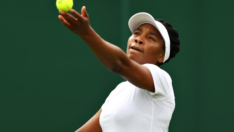 The 41-year-old Venus turned pro as a 14-year-old in 1994