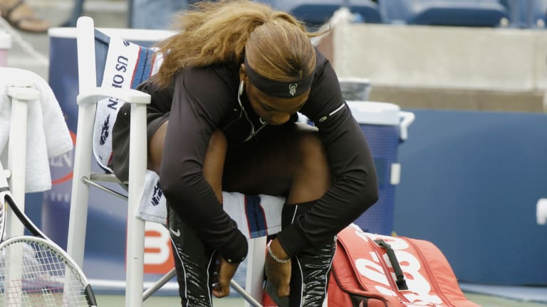 Serena reveals  top three favorite  on-court outfits