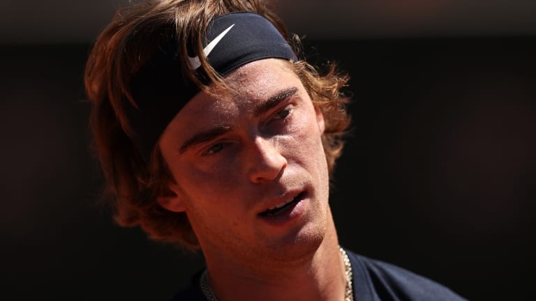 Andrey Rublev's clay-court season began with a win over Rafael Nadal, and a trip to the Monte Carlo final. It ended in the first round of Roland Garros.