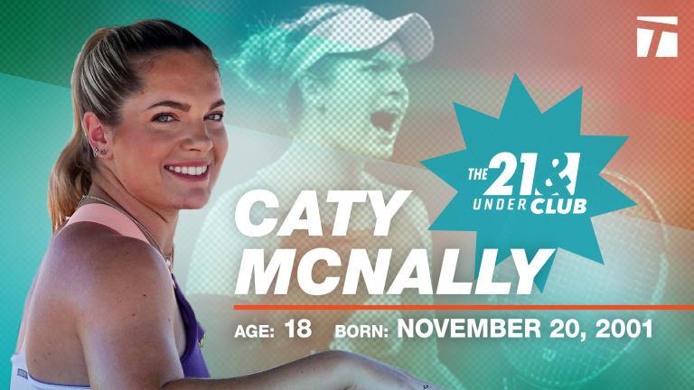 The 21 & Under Club, 2020 Edition: Caty McNally