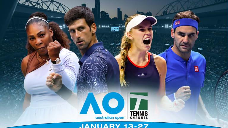 Andreescu, qualifiers enter Australian Open main draws battle-tested