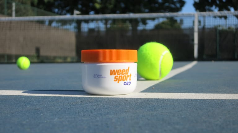 Today, CBD products are essentially everywhere—and have found their way into tennis thanks to companies like WeedSport.