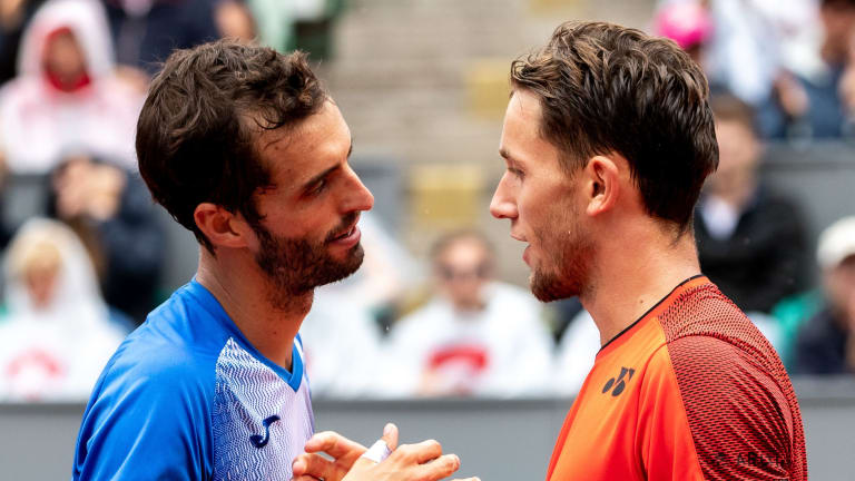 Ramos-Vinolas won his first four matches with Ruud before the Norwegian managed to solve the lefty.