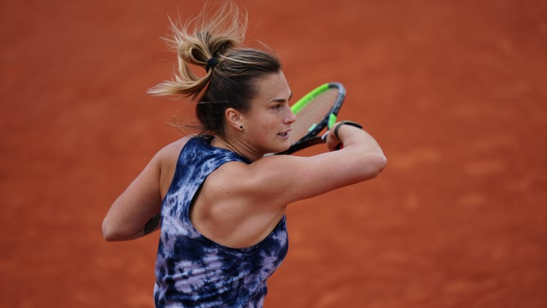 Sabalenka is hoping to continue a Roland Garros trend, as the past five women's winners were first-time major champions.