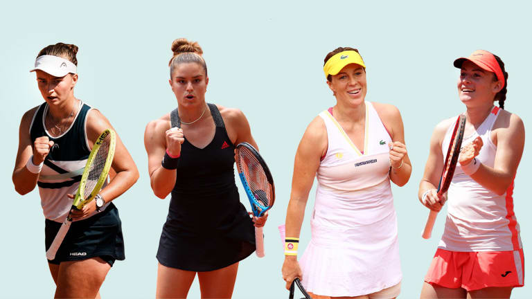 For the sixth consecutive year at Roland Garros, a first-time women's major champion will be crowned.