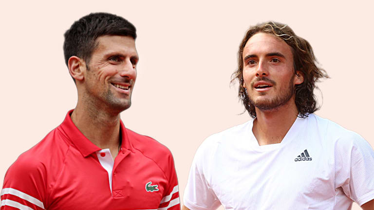Djokovic has won all three of the pair's previous clay-court meetings.