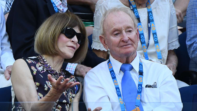 You'd be hard-pressed to find a celebrity who's a more hardcore tennis fan than Anna Wintour.