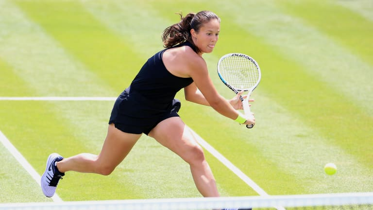 Kasatkina has already picked up a pair of hard-court trophies this season.
