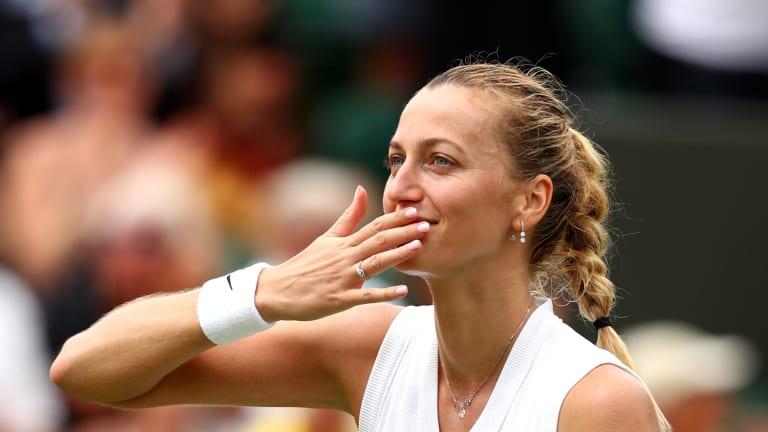 Kvitova is coming off a semifinal showing in Bad Homburg, where she fell in a decisive tiebreaker to Angelique Kerber.