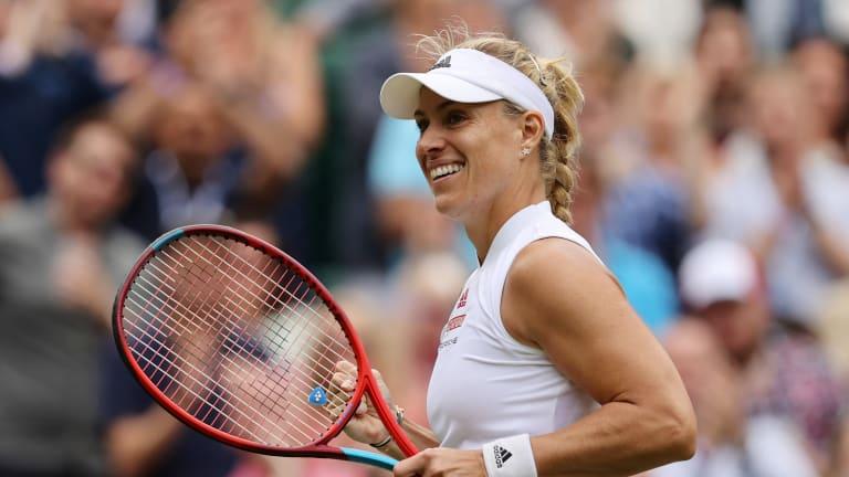 June's Bad Homburg champion Kerber has won nine straight matches on grass.