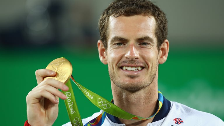 Andy Murray's gold medal run at the 2016 Olympics did not contribute any ranking points towards his year-end No. 1 finish.