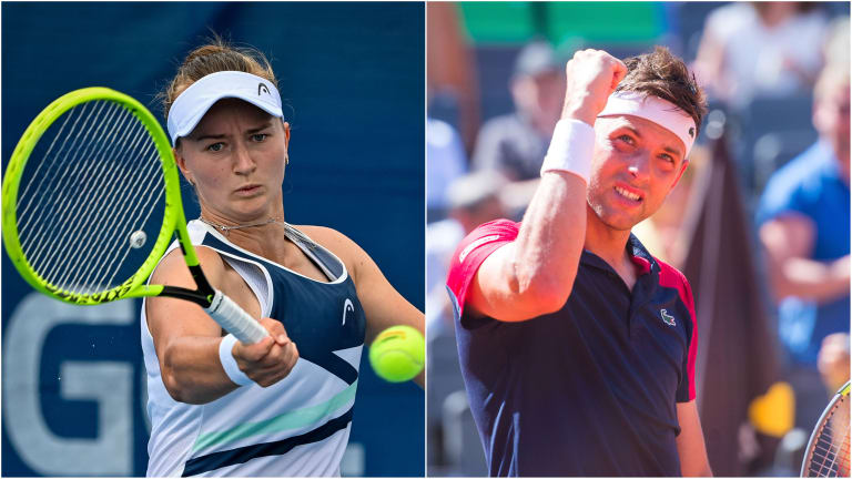 Krejcikova and Krajinovic cruised through their respective semifinals on Saturday.