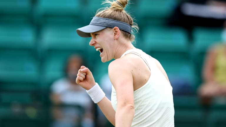 """""""I was really happy with the way I fought,"""" said Riske."""