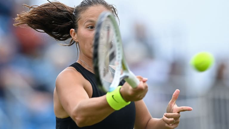 Kasatkina never lost her composure despite losing the first set 6-3.