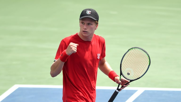 Brooksby is the lowest-ranked player into the semifinals of Washington, D.C. since 2007 (John Isner, then No. 416).