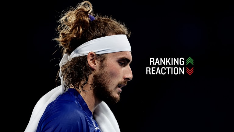 Tsitsipas bumped Nadal out of the Top 3 this week, but Nadal could bump him right back out depending on what happens in Toronto.