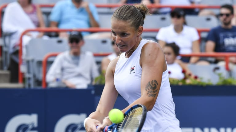 There aren't many games that look as good—as smoothly ruthless—as Pliskova's does when it's going well.