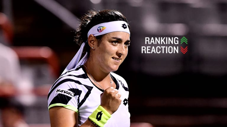 Jabeur, who has 14 career Top 20 wins, has finally broken into the Top 20 herself this week.