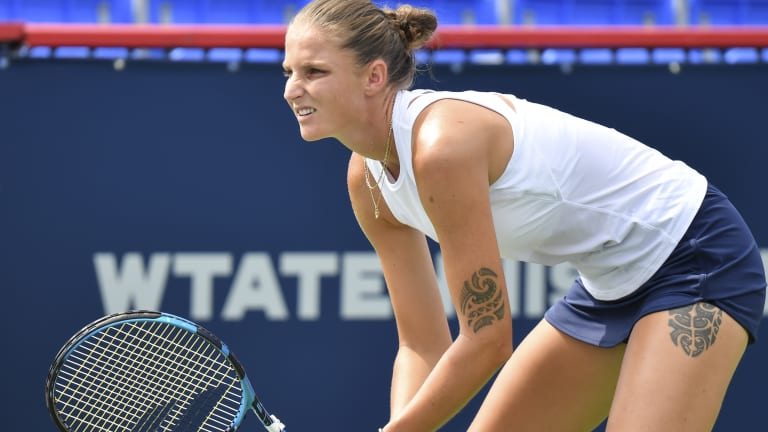 Five years after making her major final debut in Queens, Pliskova got back to that stage at Wimbledon in July.