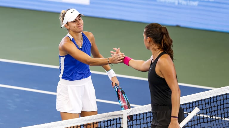 Linette recently went down to the Russian in the San Jose quarterfinals on August 6.