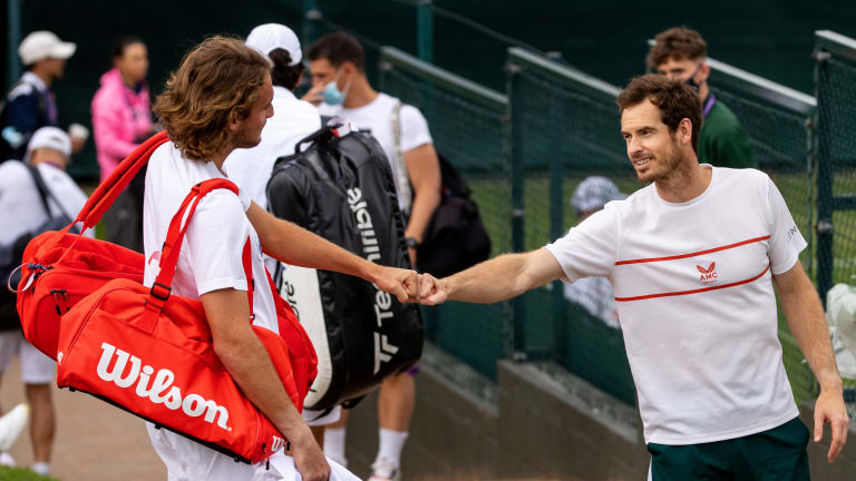Tsitsipas and Murray will face off for the first time on distinctly different career trajectories.