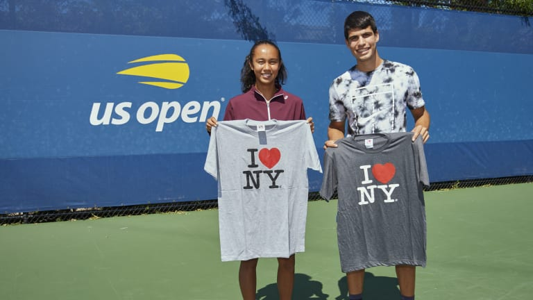 Leylah Fernandez and Carlos Alcaraz, two 18-year-olds that toppled No. 3 seeds, have quickly become fan favorites in Flushing Meadows.