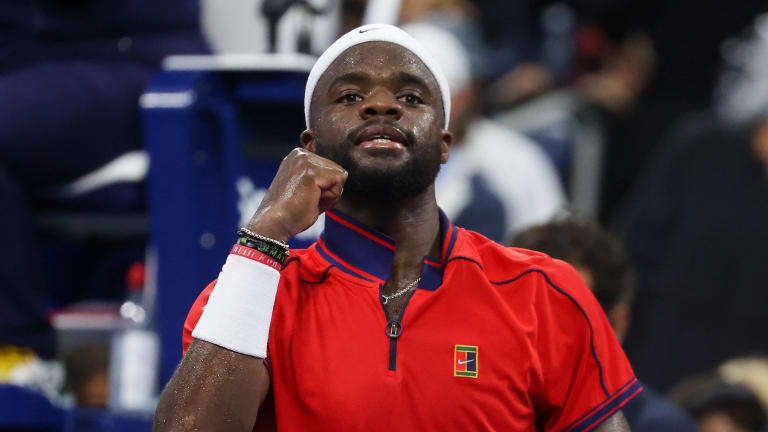Frances Tiafoe is relishing the opportunity to face a player like Andrey Rublev at his home Slam.