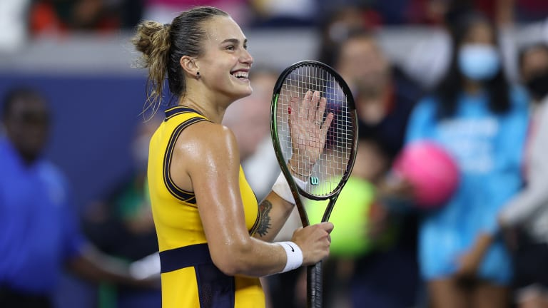 Aryna Sabalenka is the oddsmakers favorite to win the title.