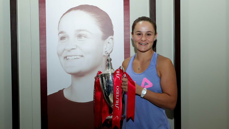 Ashleigh Barty won the most recent edition of the WTA Finals in 2019.