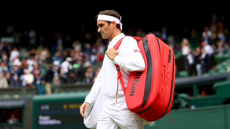 Federer went 9-4 this season, reaching the quarterfinals of Wimbledon in his most recent appearance (l. to Hubert Hurkacz).