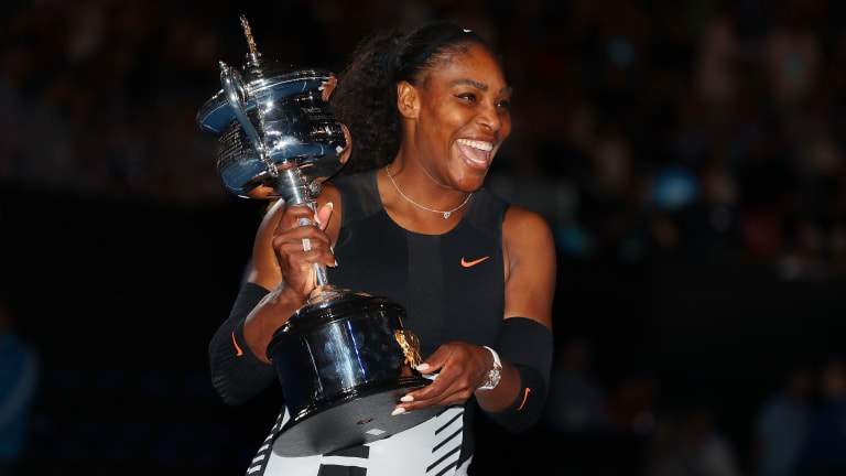 The last major title Serena won, at the 2017 Australian Open, is seen by many as her most impressive.