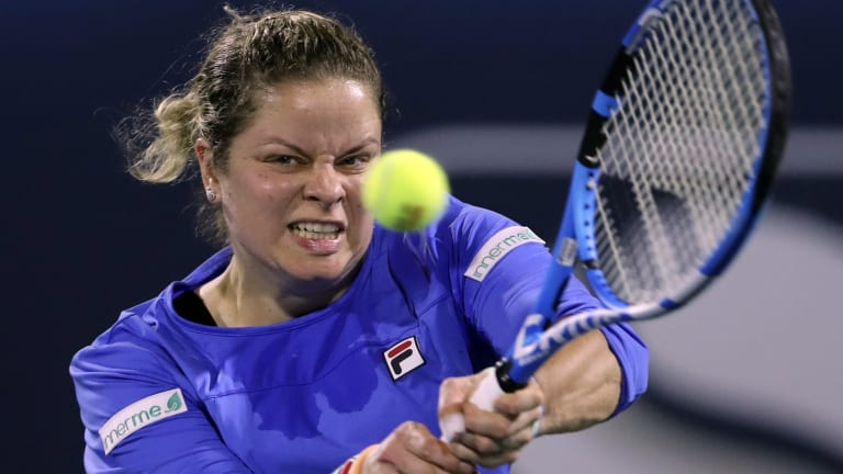 Kim Clijsters will return to the court in Chicago.