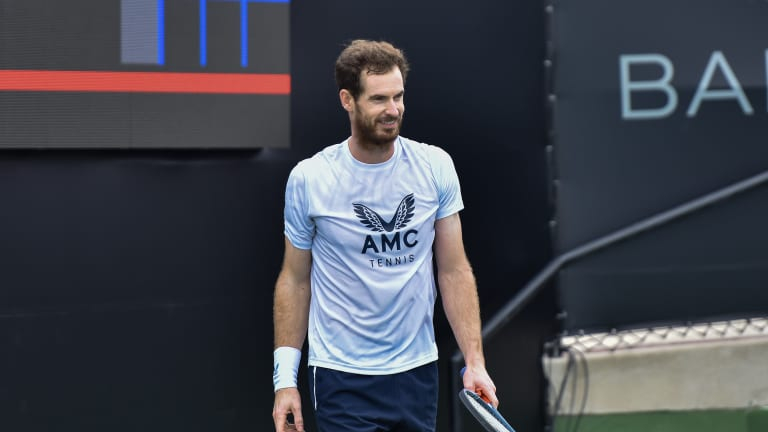 If Murray advances, he'll face No. 2 seed Casper Ruud in the second round.