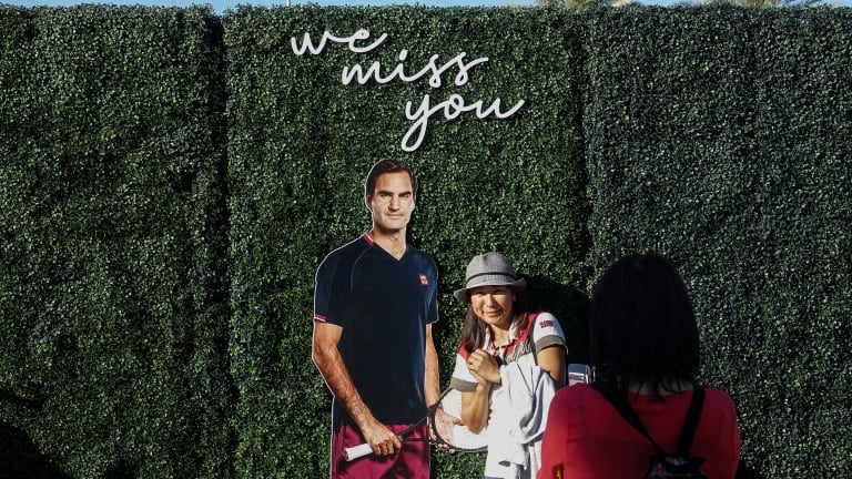 Having to undergo a third knee surgery, Federer shut down his season in August.
