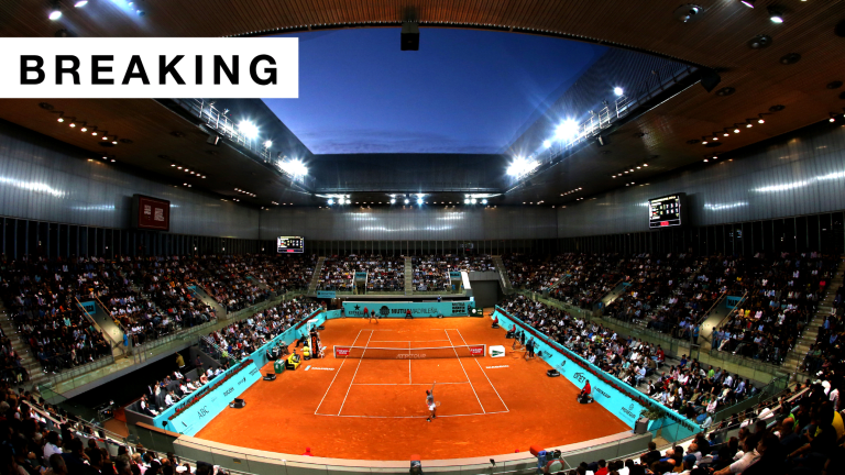 September's Mutua Madrid Open officially canceled due to COVID-19 rise