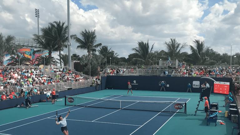 Andreescu overcomes 6-4, 5-1 deficit to beat Begu in Miami