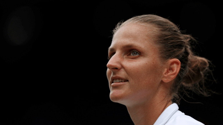 When Pliskova loses, we often criticize her for being too casual. When she wins, we praise her for being cool under pressure. She's never been cooler, under more pressure, than she was in the third set today.