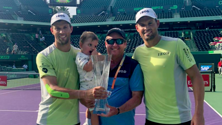 TENNIS.com Podcast: Dave Marshall reflects on travels with the Bryans