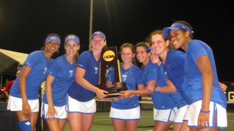 Former NCAA champ Reka Zsilinszka brings a tennis mentality to the ER