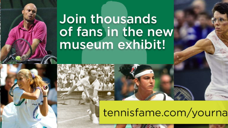 HOF enshrinement partners Martinez and Ivanisevic won in doubles, too
