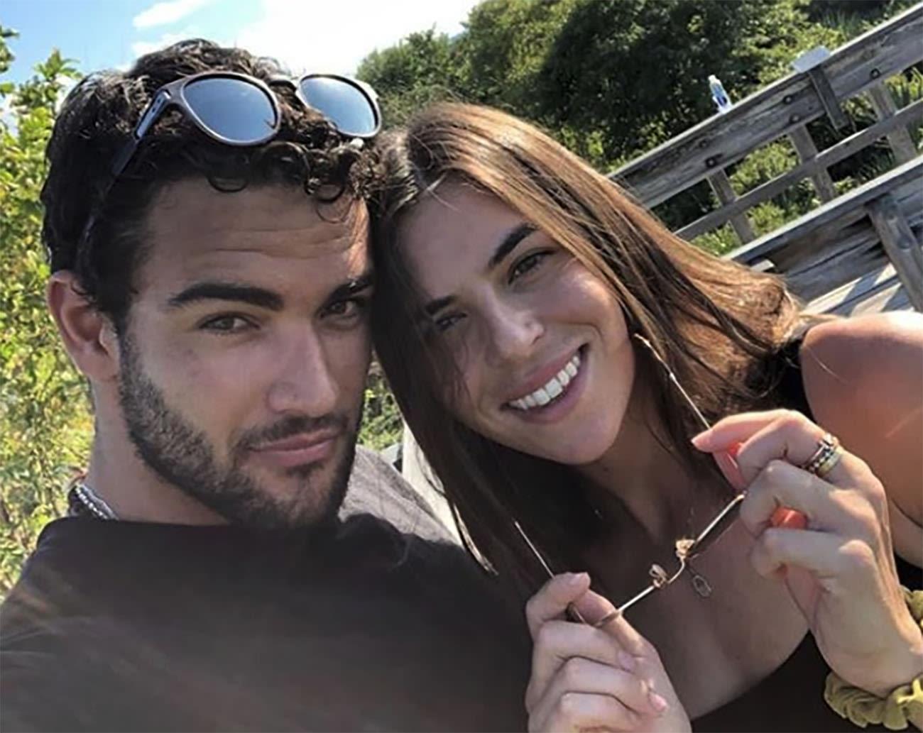 Matteo Berrettini con apasionado, Novia Ajla Tomljanovic